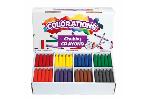 Colorations® Chubby Crayons Set of 200
