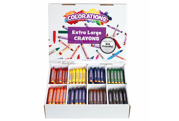 Colorations® Extra Large Crayons - Set of 200