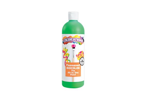 BioColor® Paint, Fluorescent Green - 16 oz.