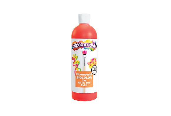 BioColor® Paint, Fluorescent Red - 16 oz.