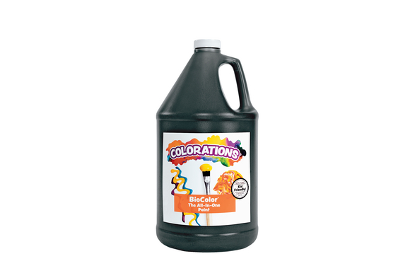 BioColor® Paint, Black - 1 Gallon