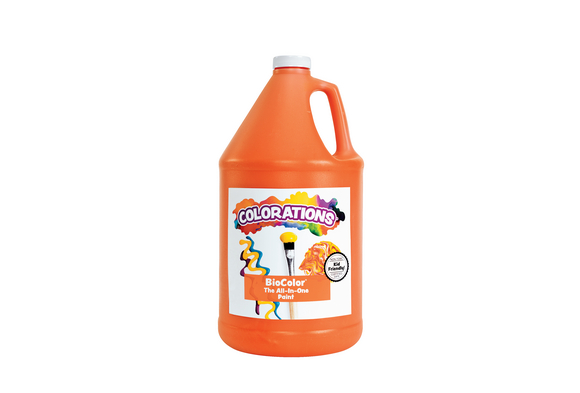 BioColor® Paint, Orange - 1 Gallon