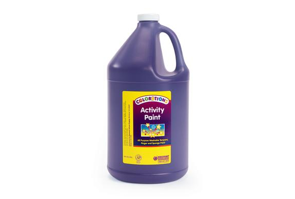 Colorations® Activity Paint, Purple - 1 Gallon