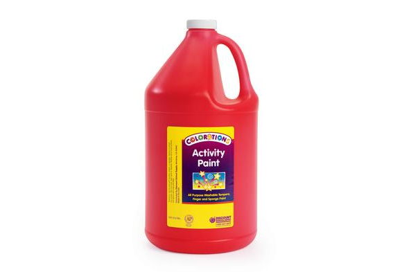 Colorations® Activity Paint, Red - 1 Gallon