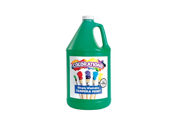Green Colorations® Simply Washable Tempera Paint - 1 Gallon