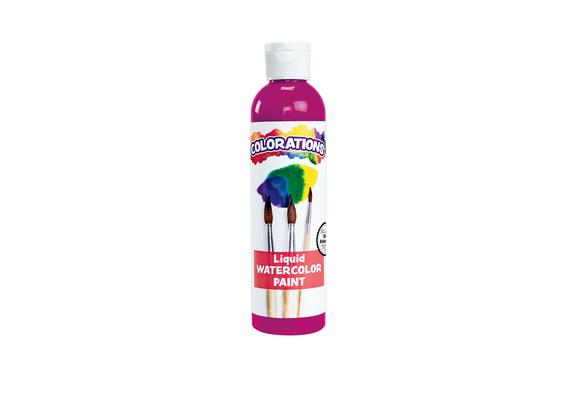 Colorations® Liquid Watercolor™ Paint, Fuschia - 8 oz.