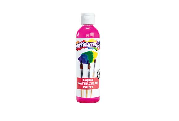 Colorations® Liquid Watercolor™ Paint, Magenta - 8 oz.