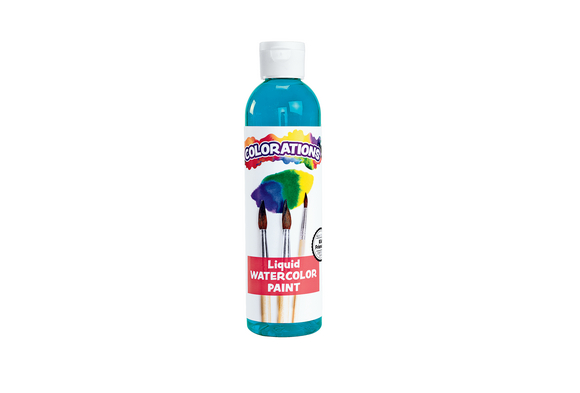 Colorations® Liquid Watercolor™ Paint, Turquoise - 8 oz.