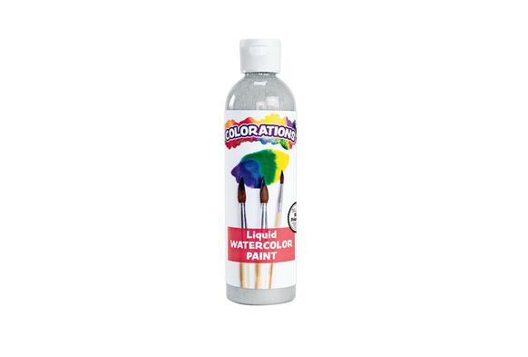 Colorations® Silver Liquid Watercolor Paint, 8 oz.