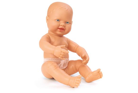 Caucasian Multicultural Newborn Baby Doll - GIRL