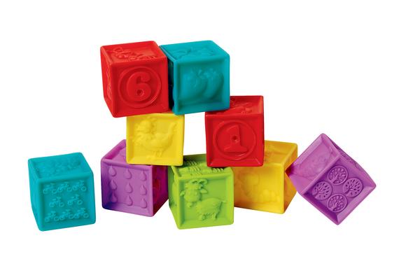 Soft Squeak Blocks - Set of 9