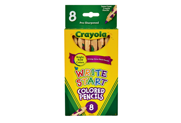 Crayola® Write-Start® Colored Pencils - Set of 8