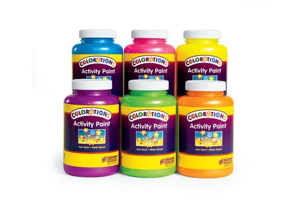 Colorations® Sparkle Activity Paint, 16 oz.