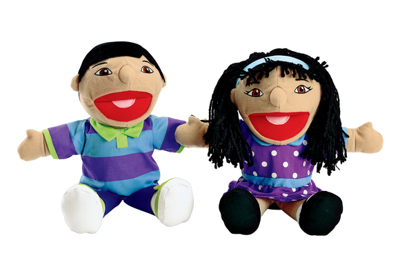 Excellerations® Asian Girl & Boy Puppet Pair