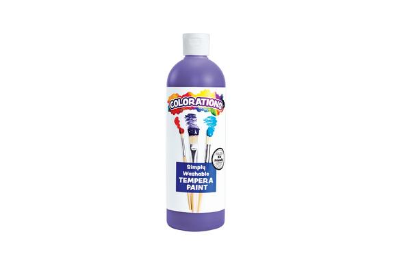 Colorations® Purple Simply Washable Tempera, 16oz.