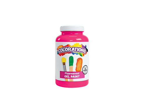 Colorations® Activity Paint, Fluorescent Pink, 16 oz.