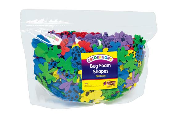 Colorations® Bug Foam Shapes - 500 Pieces