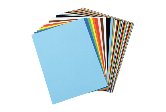 Tru-Ray® Assorted Colors Sulphite Paper, 9