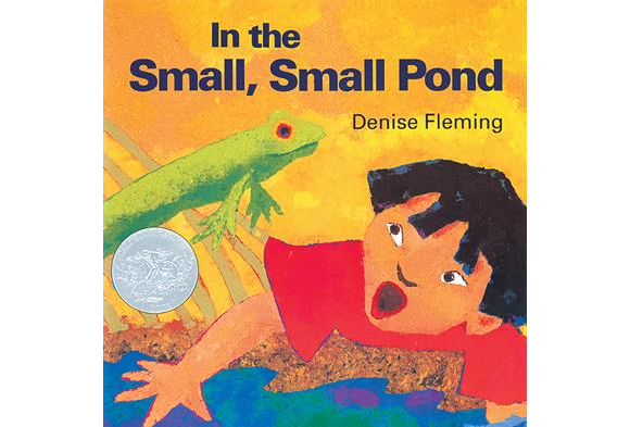 In the Small, Small Pond Papeback Book