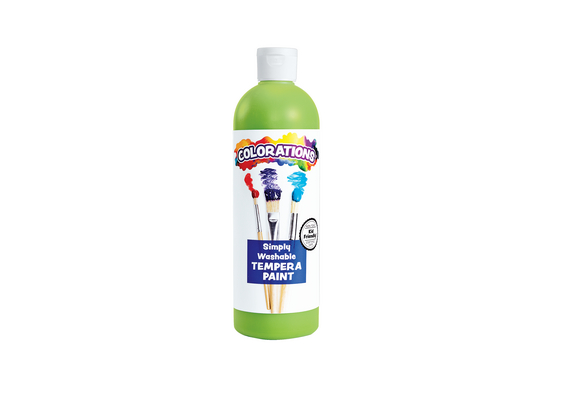 Colorations® Apple Green Simply Washable Tempera, 16oz.