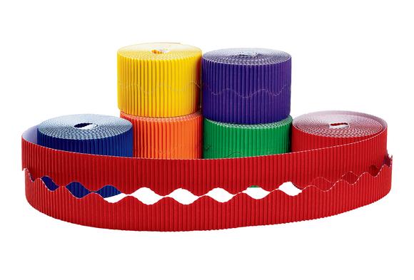 Colorations® Prima-Color™ Borders, Classic Colors - Set of 6