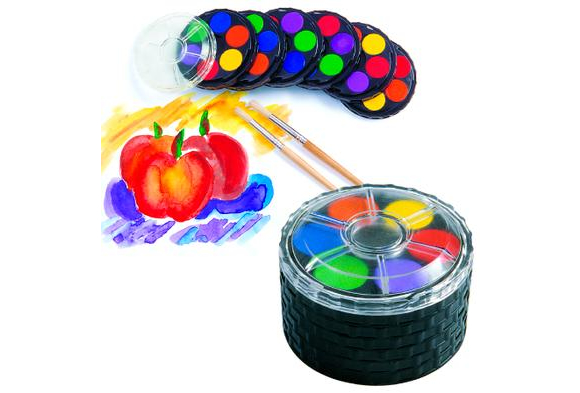 Colorations® Classroom Watercolor Paint Compacts