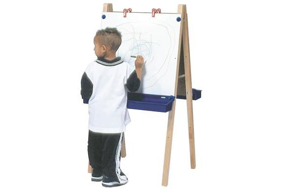 Adjustable Whiteboard Easel