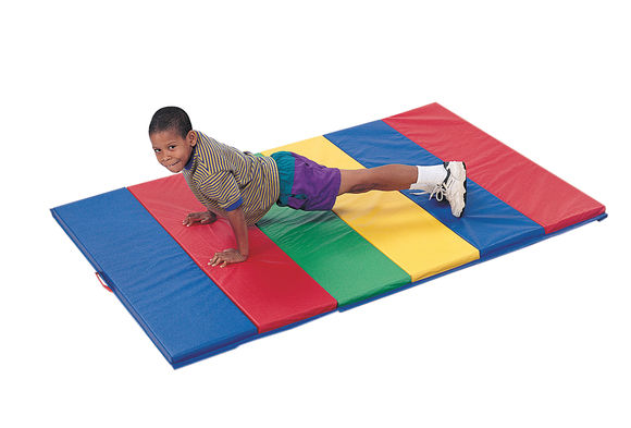 4' x 8' Rainbow Tumble Mat