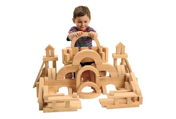 Excellerations® Best Value Floor Unit Blocks - Set of 162