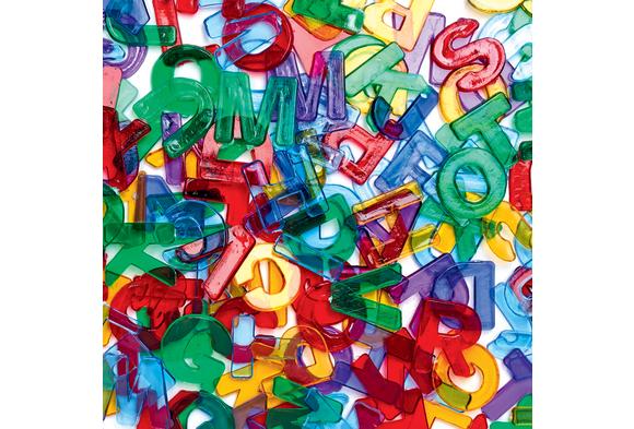 Colorations® Letter Jewels - 260 Pieces