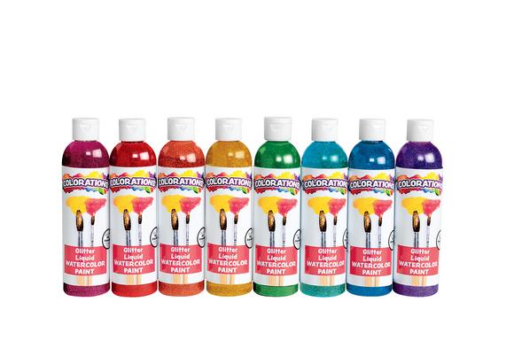 Colorations® Glitter Liquid Watercolo™ - Set of All 8