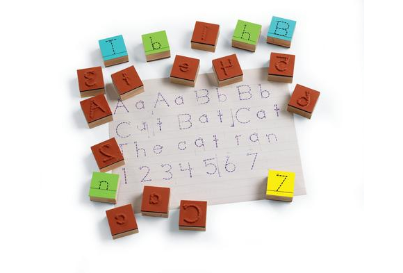 Excellerations® Trace and Write Stampers - Set of 62