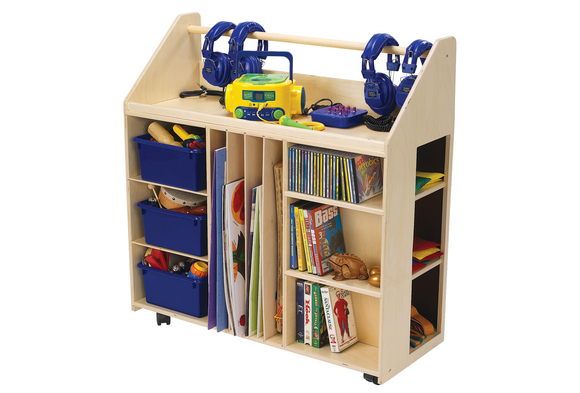 Angeles® One Stop Music Media Cart