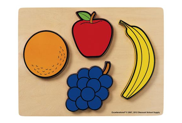 Excellerations® Fruit Chunky Puzzles