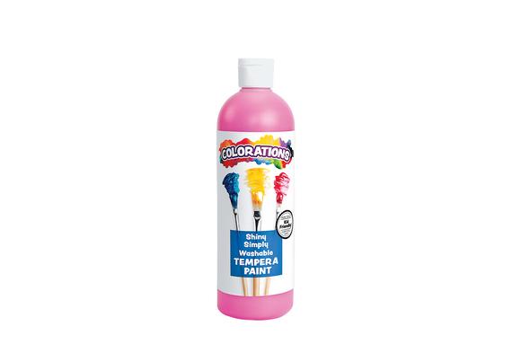Colorations® Simply Shiny Washable Tempera, Magenta - 16 oz.
