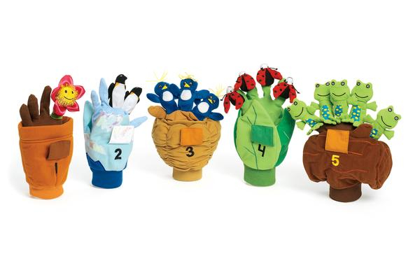 Excellerations® Counting Pop-Up Puppets - Set of 5