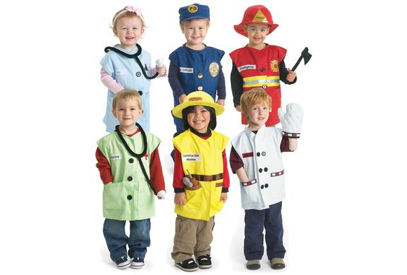 Excellerations® Career Toddler Costume - Set of All 6