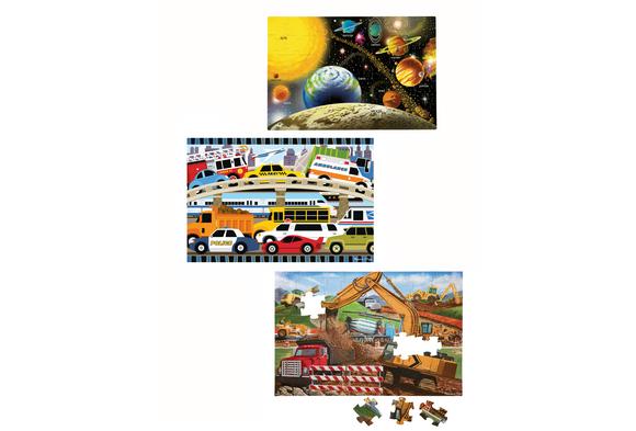 Jumbo Floor Puzzles - Set of 3