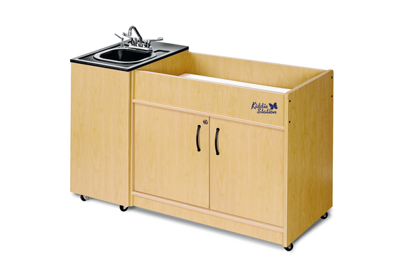 Ozark River® Portable Hygienic Changing Table with ABS Top and Basin