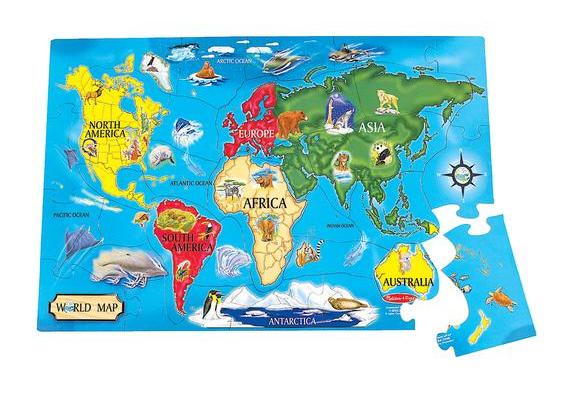 World Floor Puzzle