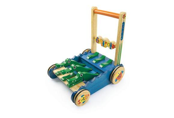 Chomp and Clack Alligator Push Toy