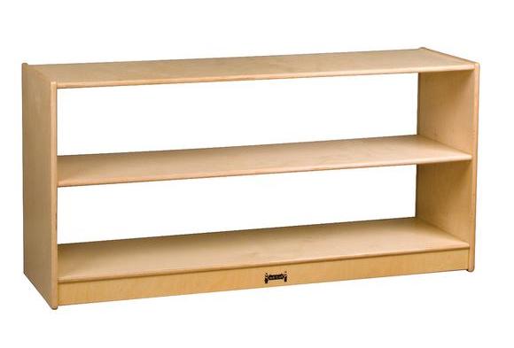Wood Clear Back Storage