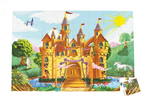 Castle Floor Puzzle - 48 pieces