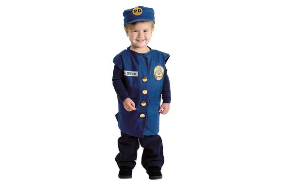 Excellerations® Career Toddler Costume - Police Officer