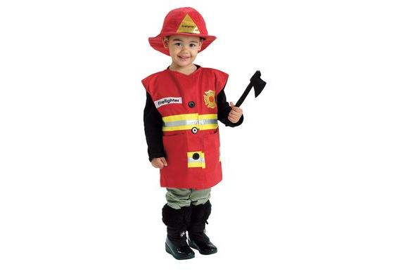 Excellerations® Career Toddler Costume Fire Fighter