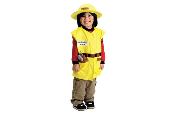 Excellerations® Career Toddler Costume - Construction Worker