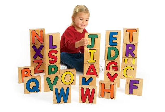 Excellerations® Alphabet Unit Blocks