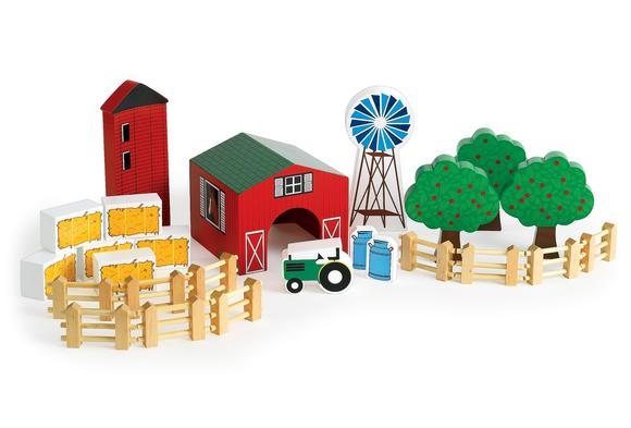 Excellerations® Farm Block Play Set - 25 Pieces