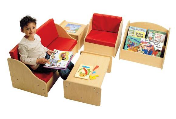 Red Vinyl Furniture - Discount School Supply