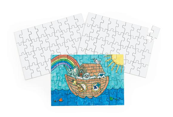 Devotional Large Blank Puzzles - Set of 24